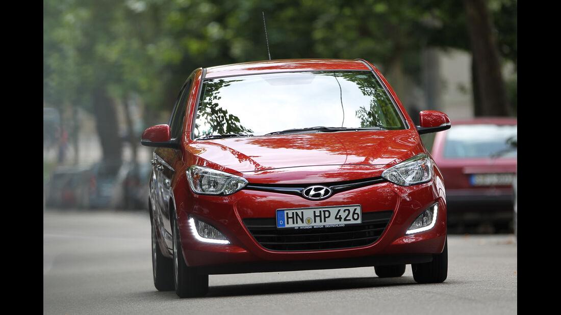 Hyundai i20 CRDi, Frontansicht