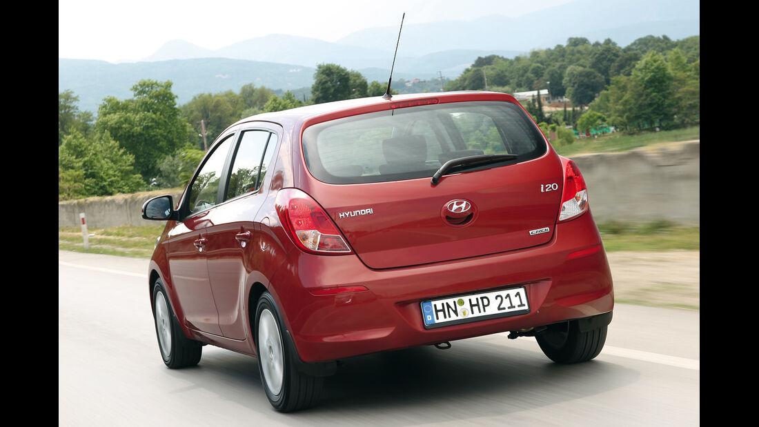 Hyundai i20 CRDi, Seitenansicht