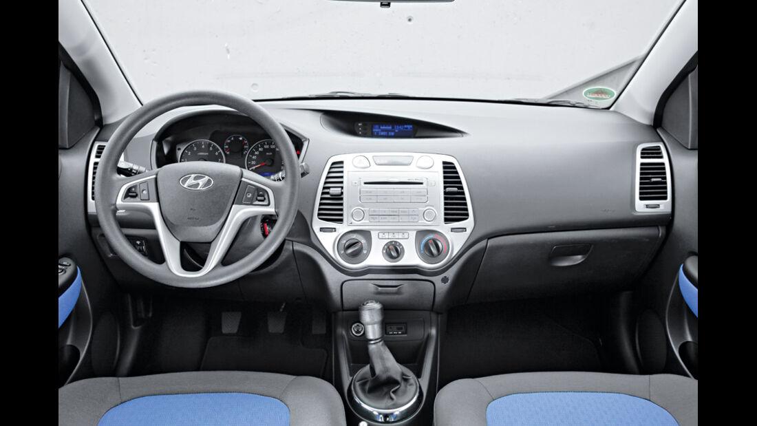 Hyundai i20, Cockpit