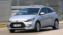 Hyundai i20 Coupé 1.4 CRDi, Frontansicht