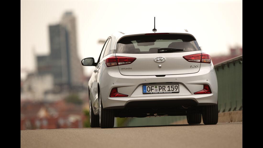 Hyundai i20 Coupé 1.4 CRDi, Heckansicht