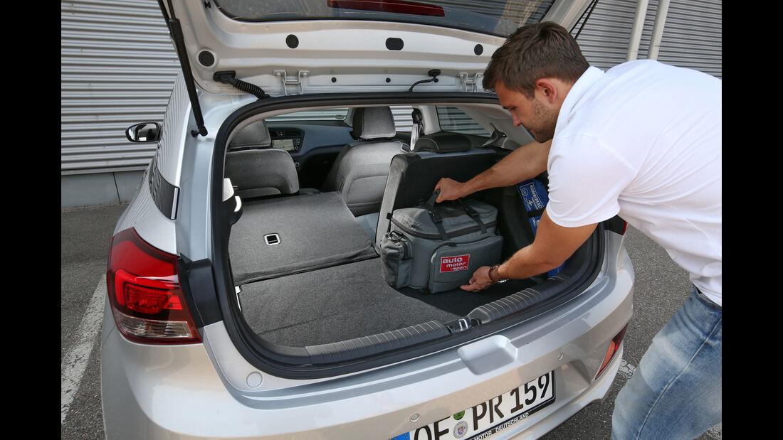 Hyundai i20 Coupé 1.4 CRDi, Kofferraum