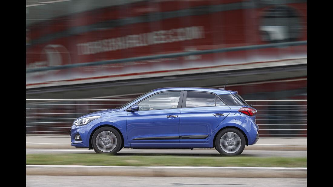 Hyundai i20, Exterieur