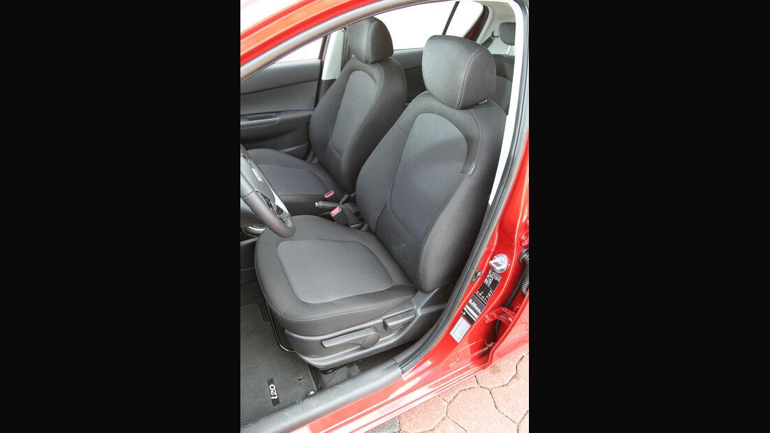 Hyundai i20, Fahrersitz