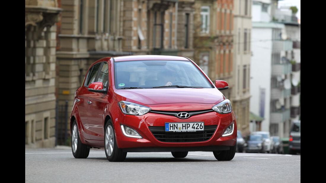 Hyundai i20, Frontansicht