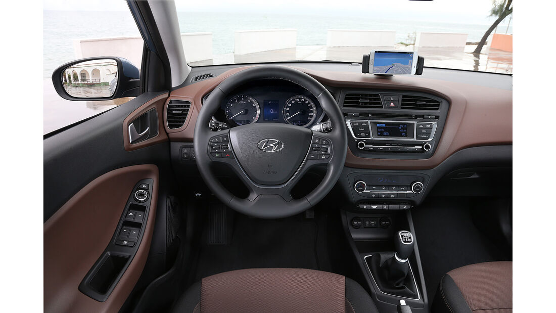 Hyundai i20, Innenraum, Cockpit