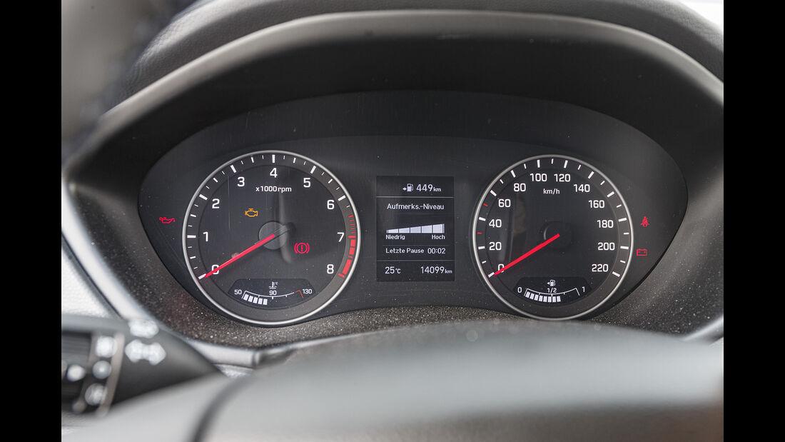 Hyundai i20, Interieur