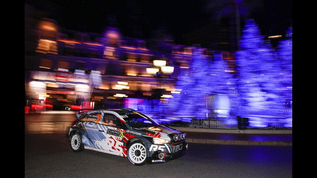Hyundai i20 R5 - Rallye Monte Carlo 2017