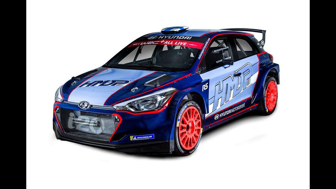 Hyundai i20 R5 - Rallye Monte Carlo 2018