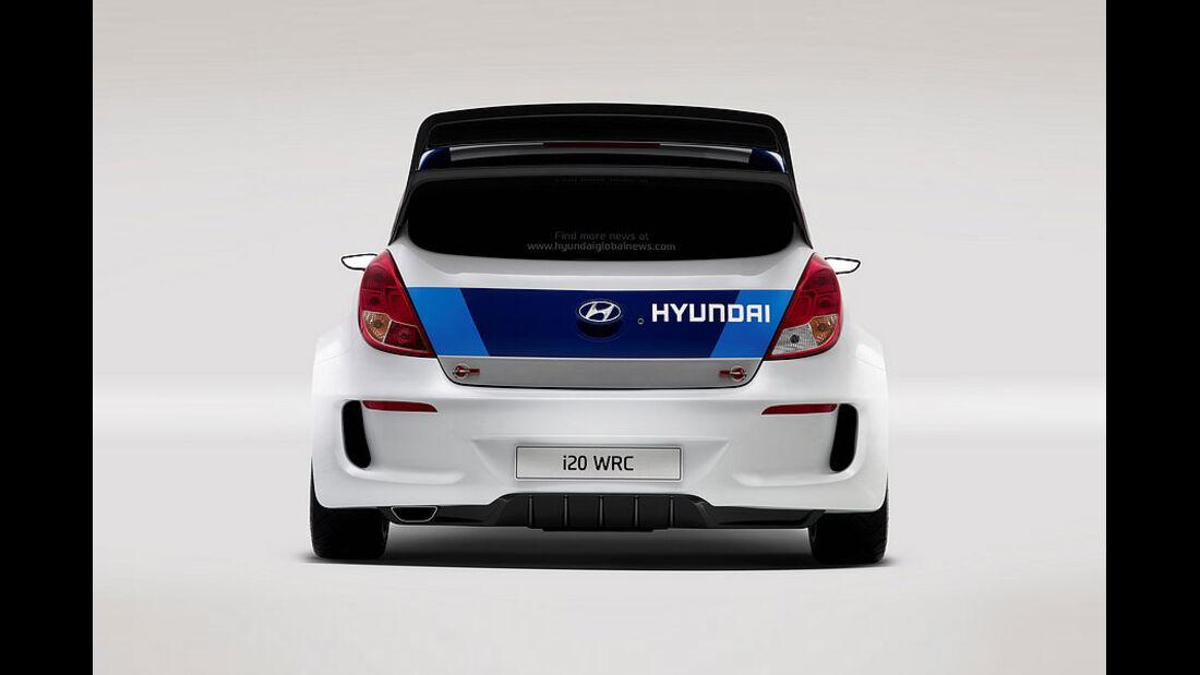 Hyundai i20 Rallye WRC 2012 Paris