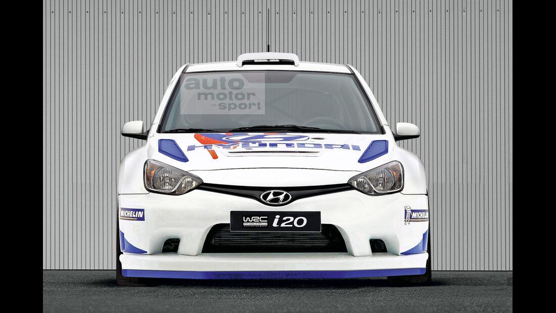 Hyundai i20 Rallye WRC Schulte Retusche
