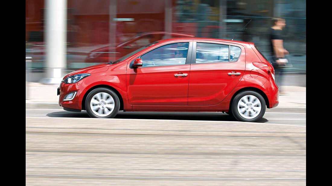 Hyundai i20, Seitenansicht