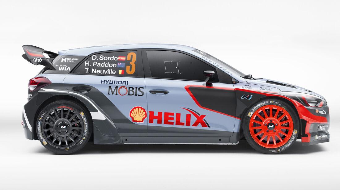 Hyundai i20 WRC 2016