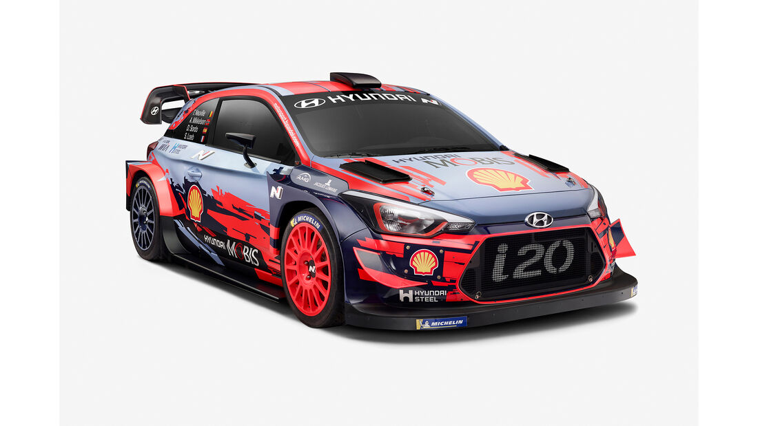 Hyundai i20 WRC 2019