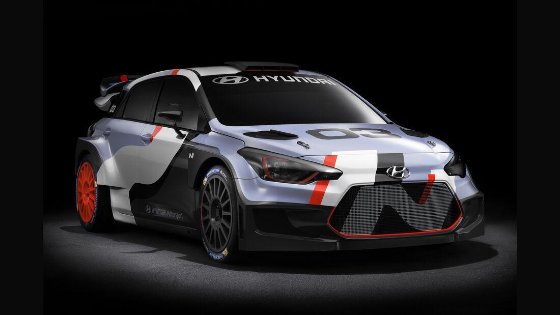 Hyundai i20 WRC - Generation 2016 - IAA Frankfurt 2015