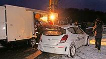 Hyundai i20 WRC, Heckansicht, Technikwagen