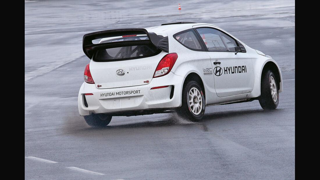 Hyundai i20 WRC, Heckansicht
