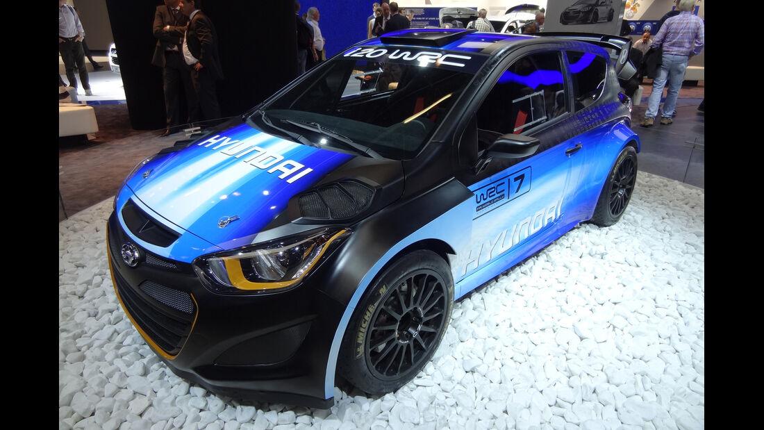 Hyundai i20 WRC - IAA 2013