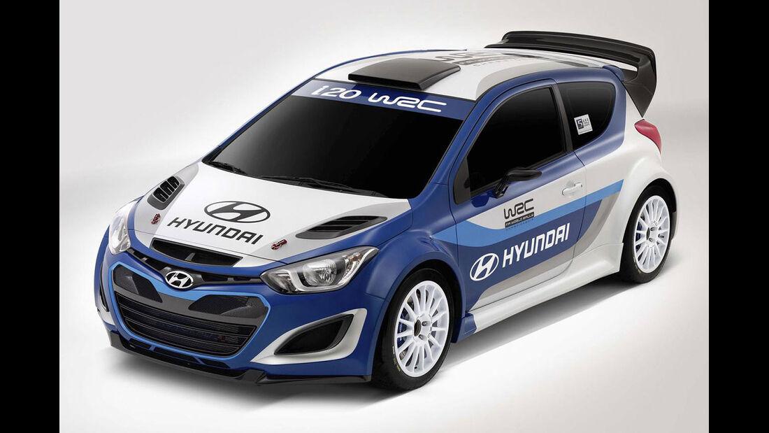 Hyundai i20 WRC Rallye