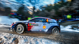 Hyundai i20 WRC - Rallye Monte Carlo 2017