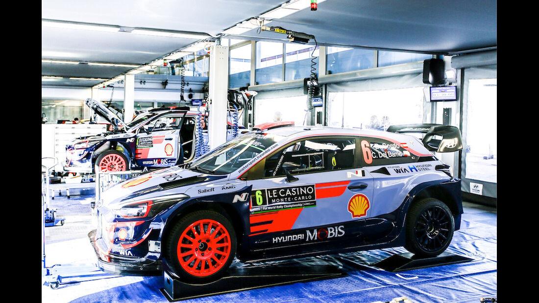Hyundai i20 WRC - Rallye Monte Carlo 2018
