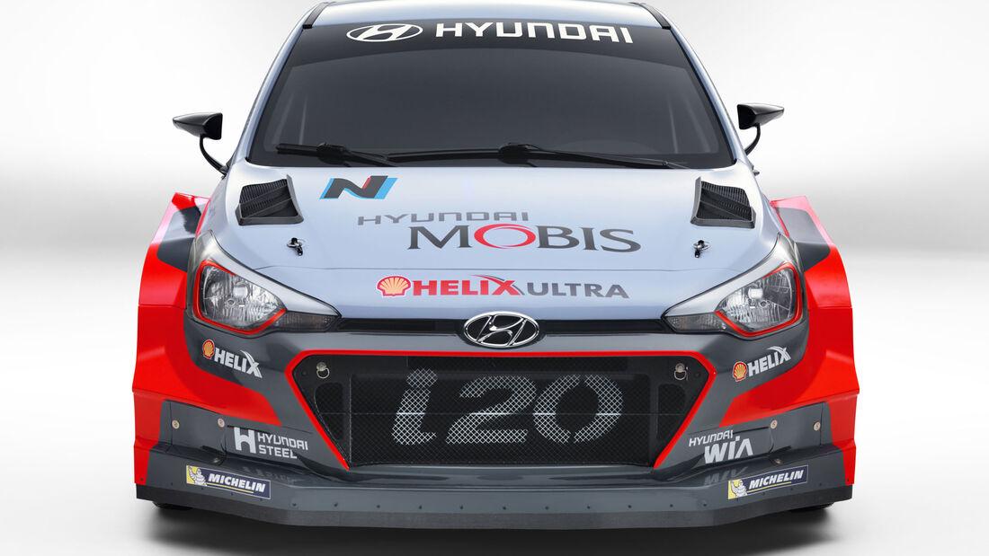 Hyundai i20 WRC - Rallye - Saison 2016
