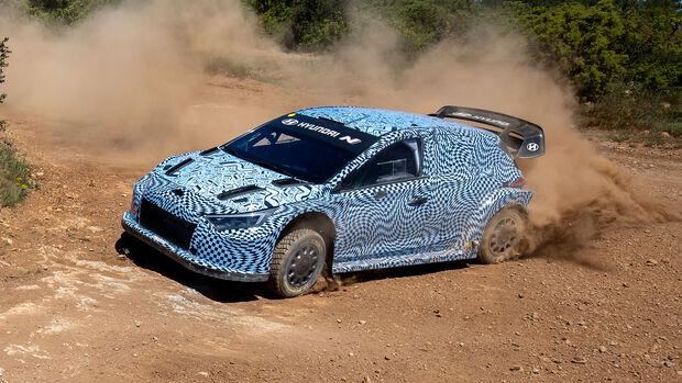 Hyundai i20N 2022 - Versuchsträger - Test