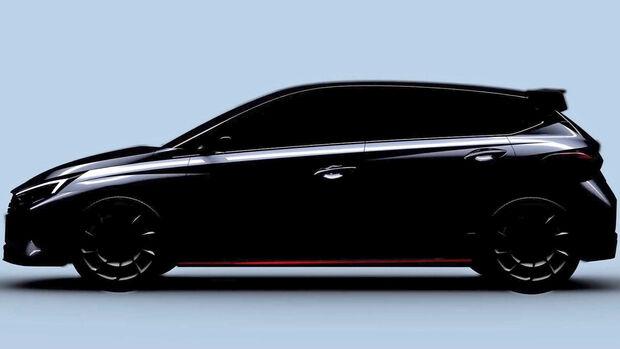 Hyundai i20N Teaser