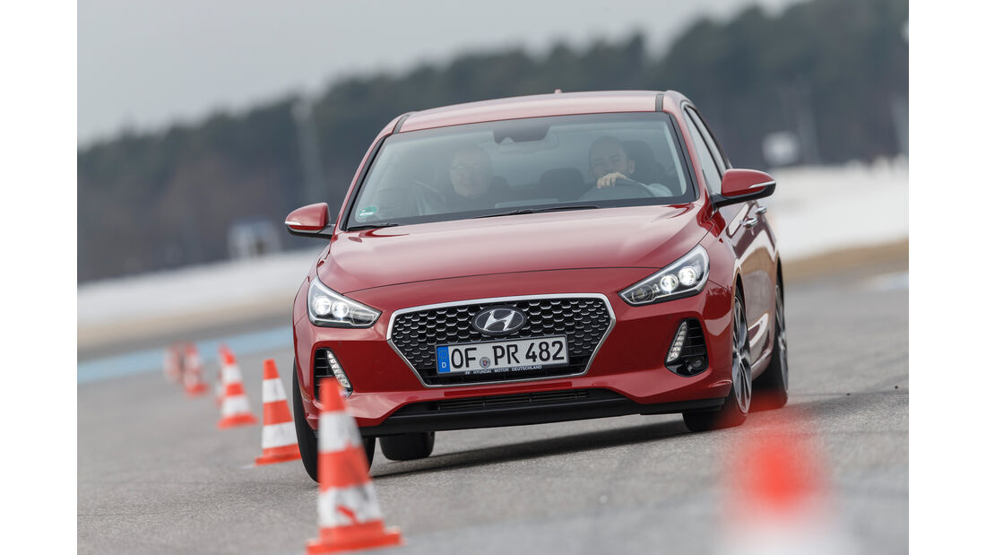 Hyundai i30 1.0 T-GDI, Frontansicht