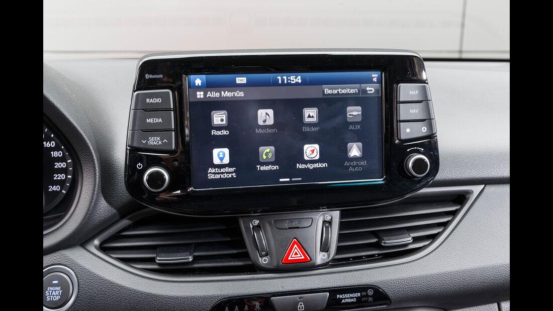 Hyundai i30 1.0 T-GDI, Infotainment