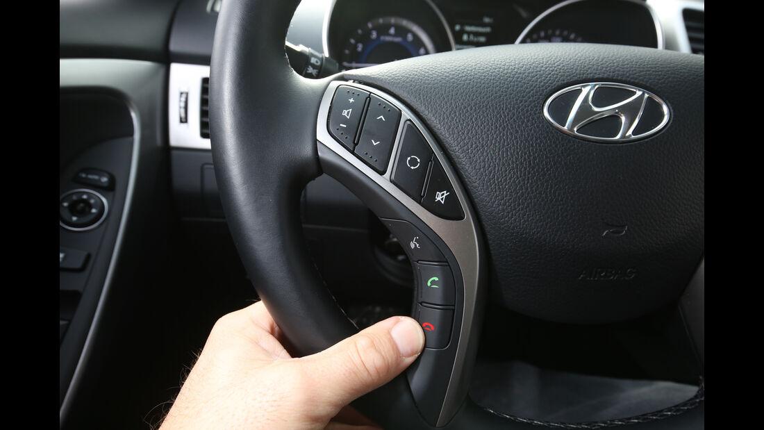 Hyundai i30 1.4, Bedienelemente