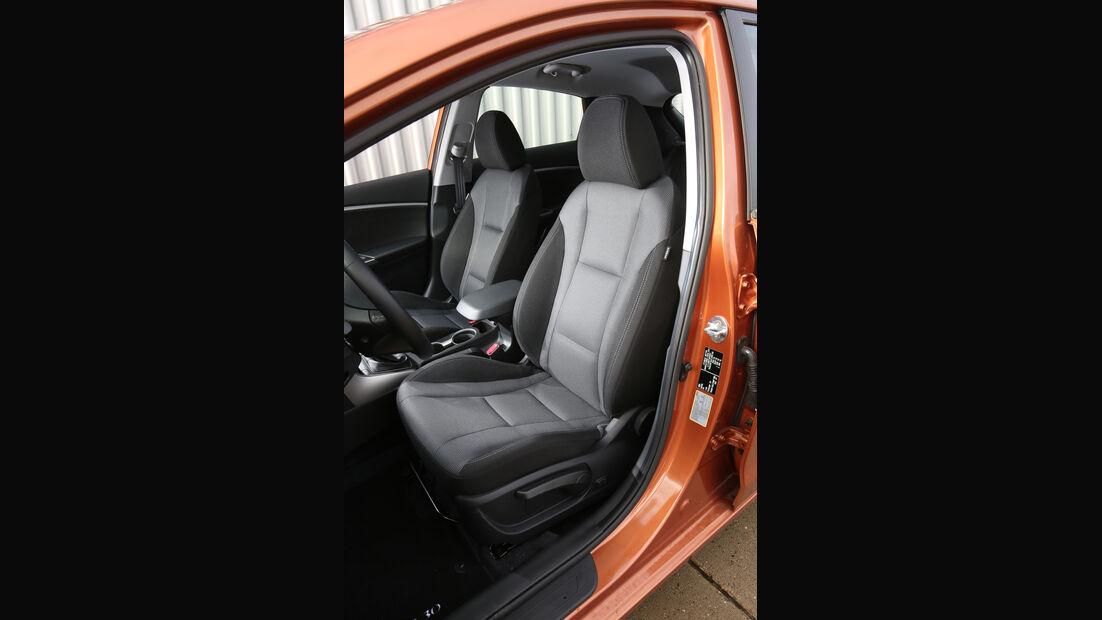 Hyundai i30 1.4, Fahrersitz
