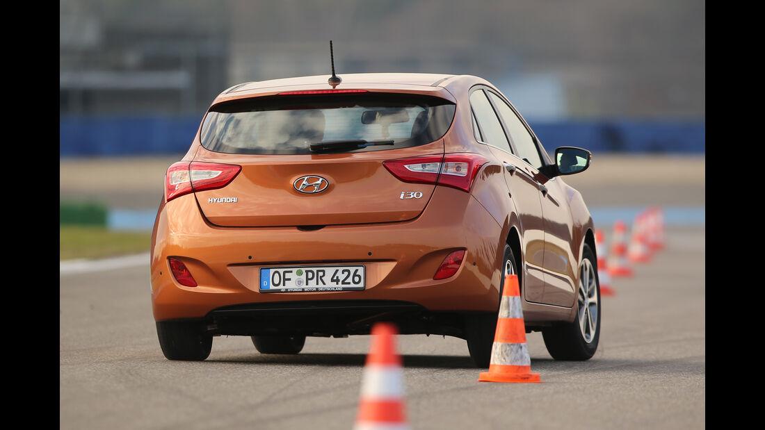 Hyundai i30 1.4, Heckansicht