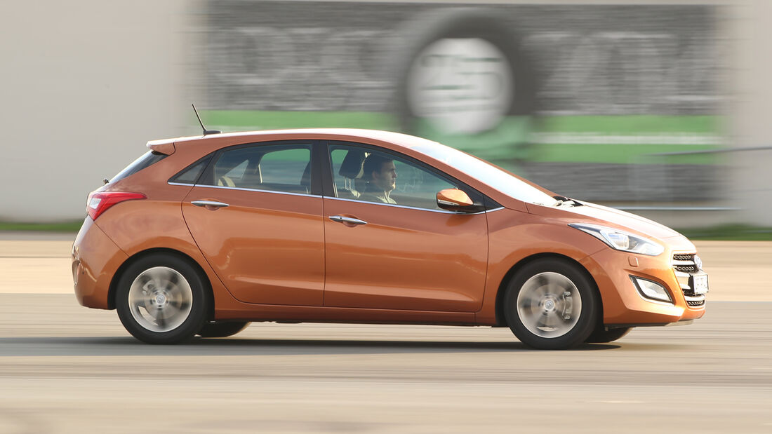 Hyundai i30 1.4, Seitenansicht
