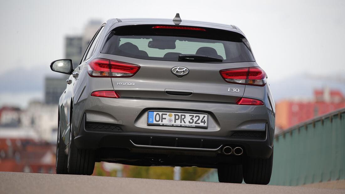 Hyundai i30 1.4 T-GDI, Exterieur