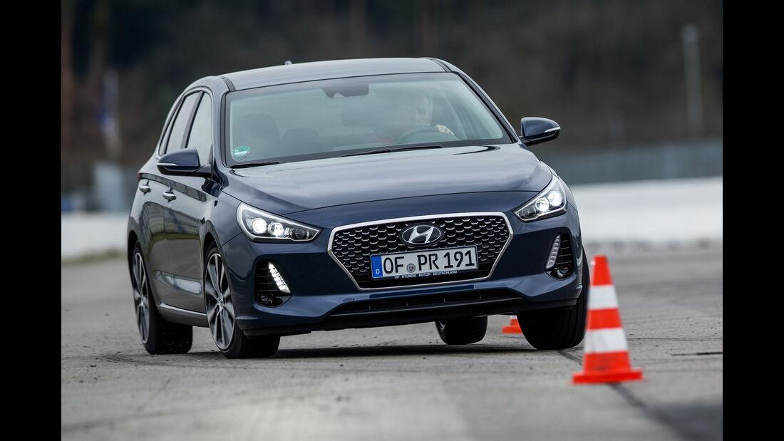 Hyundai i30 1.4 T-GDI, Frontansicht