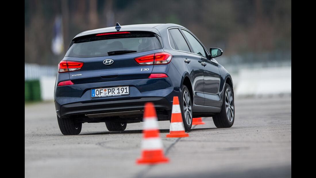 Hyundai i30 1.4 T-GDI, Heckansicht