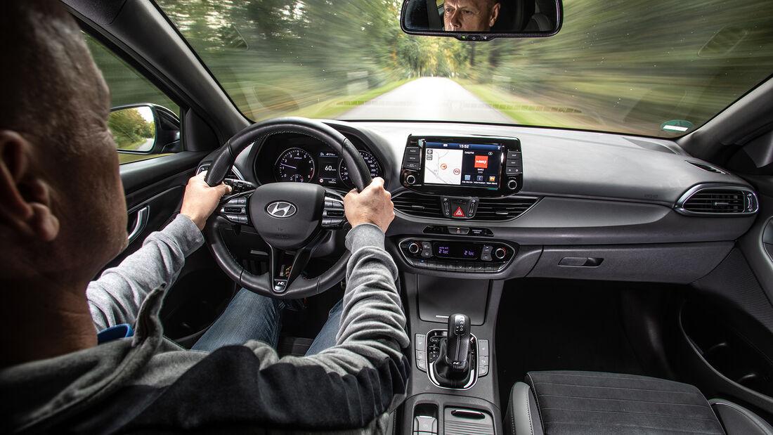 Hyundai i30 1.4 T-GDI, Interieur