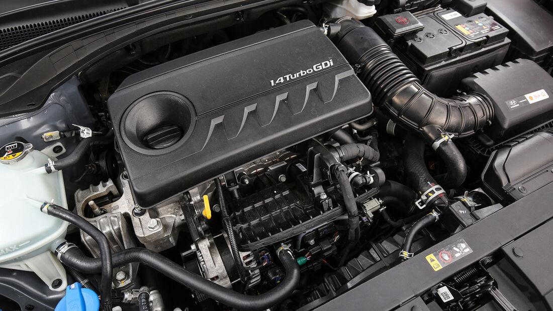 Hyundai i30 1.4 T-GDI, Motorraum