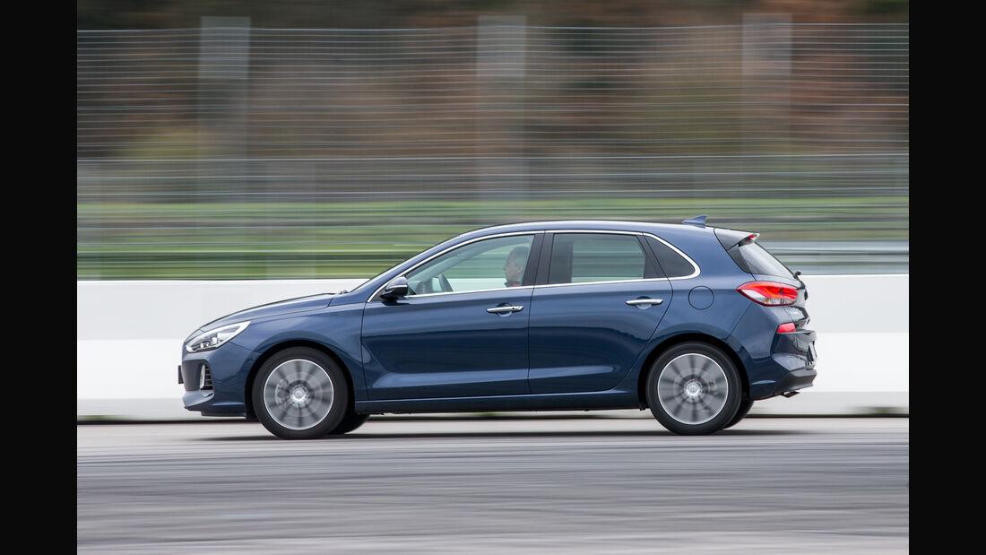 Hyundai i30 1.4 T-GDI, Seitenansicht