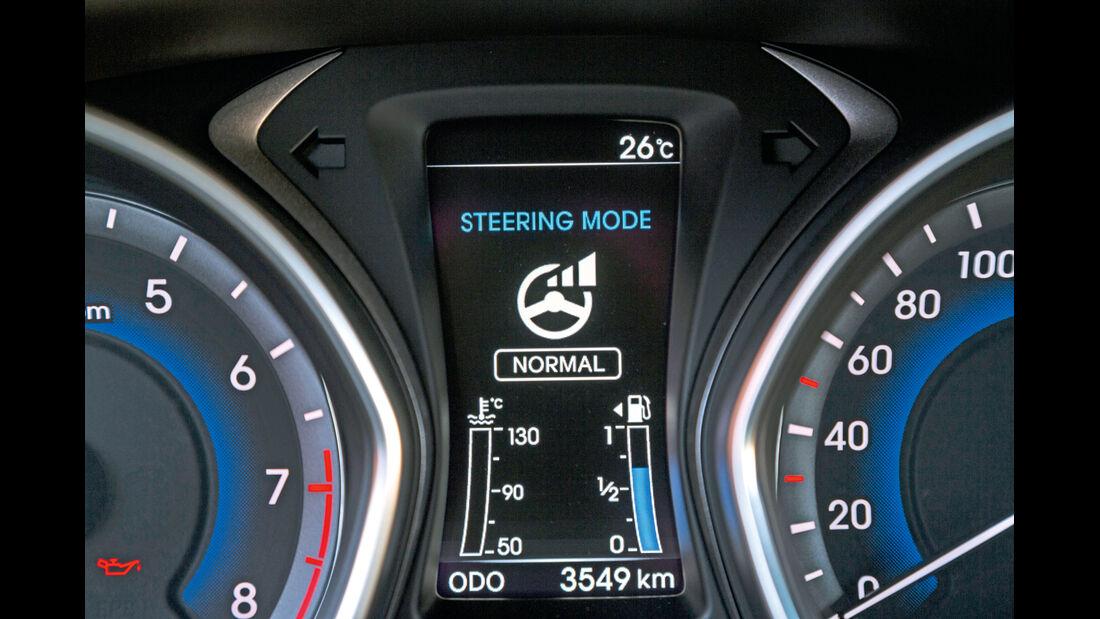 Hyundai i30 1.6, Bordcomputer