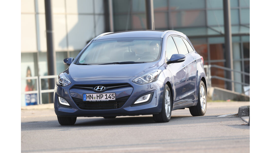 Hyundai i30 1.6 CRDI, Frontansicht