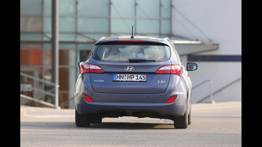 Hyundai i30 1.6 CRDI, Heckansicht