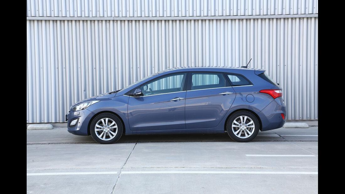 Hyundai i30 1.6 CRDI, Seitenansicht