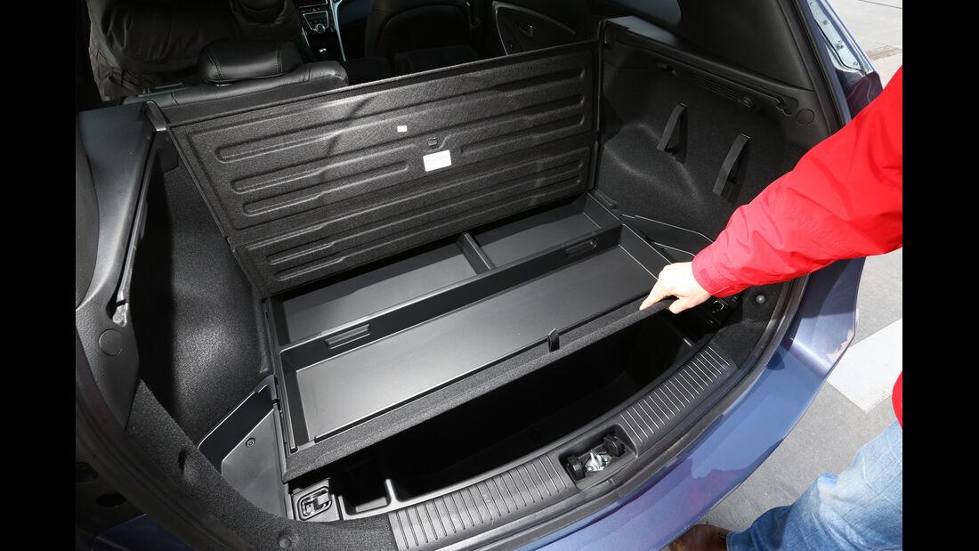 Hyundai i30 1.6 CRDI, Stauraum