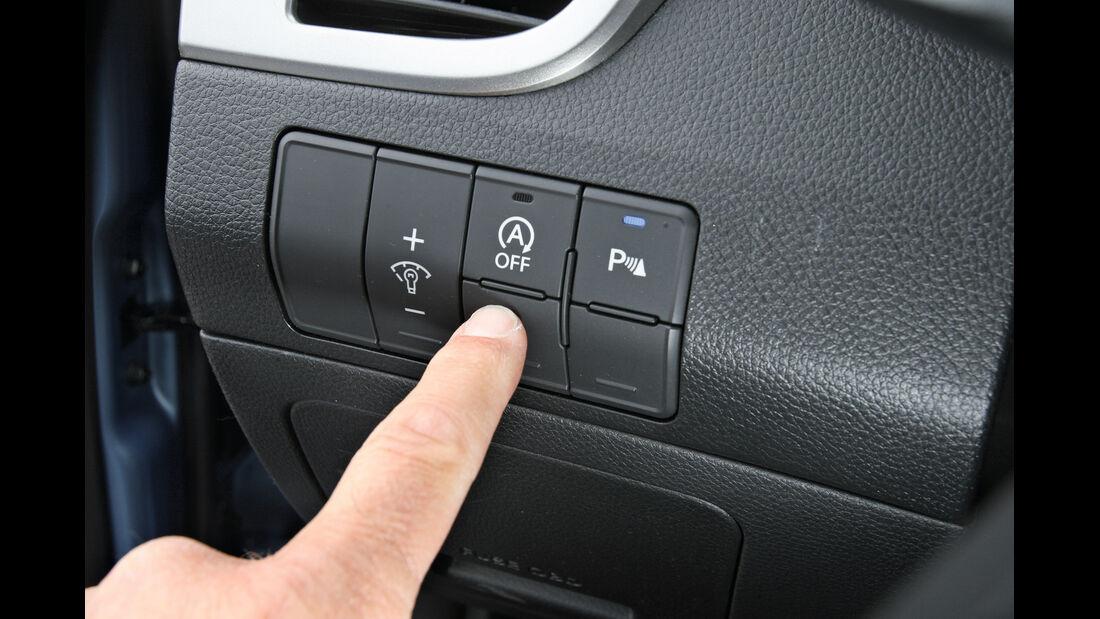 Hyundai i30 1.6 CRDi, Bedienelemente