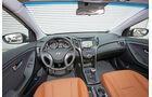 Hyundai i30 1.6 CRDi Coupé, Cockpit, Lenkrad
