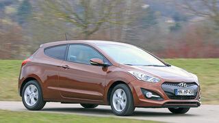 Hyundai i30 1.6 CRDi Coupé, Frontansicht