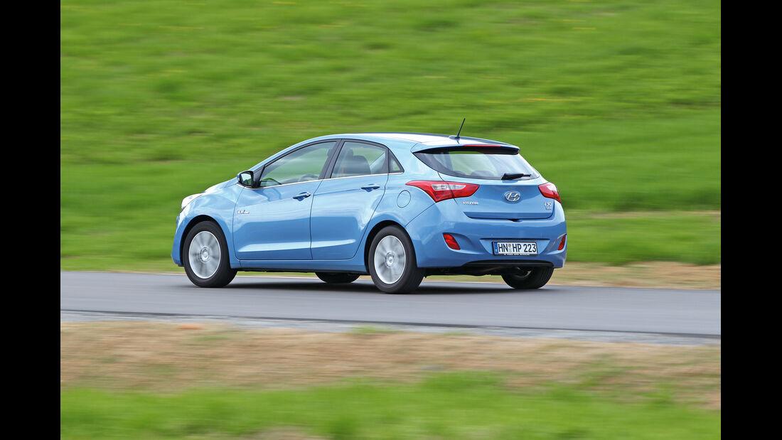 Hyundai i30 1.6 CRDi, Heck