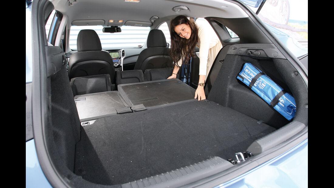 Hyundai i30 1.6 CRDi, Ladefläche